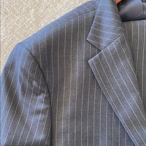 Men's pin stripped suit. Jacket and Pants
